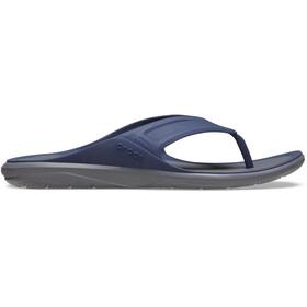 Crocs Swiftwater Wave Sandalias de Piel Hombre, azul/gris
